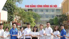 Trường Cao đẳng Cộng đồng Hà Nội Tuyển Sinh 2019