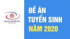 ĐẠI HỌC NGUYỄN TRÃI THÔNG BÁO TUYỂN SINH 2020